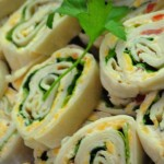 Make Ahead Chicken Pinwheels