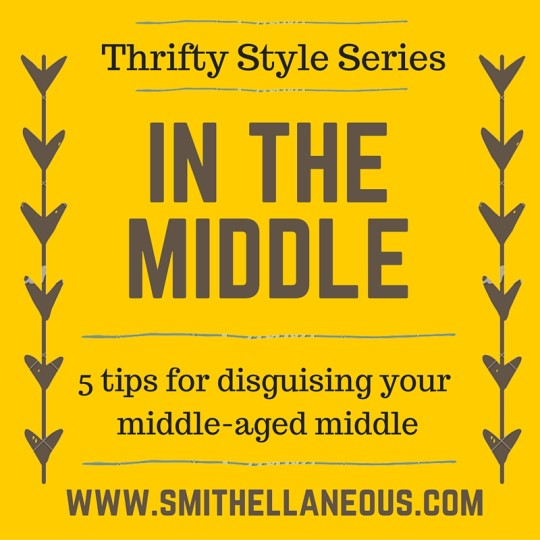 Blog post about disguising your middle-aged middle